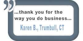 Trumbull, CT Customer Testimonial