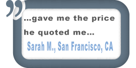 San Francisco, CA Customer Testimonial