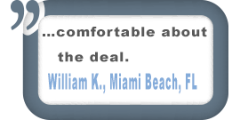 Miami Beach, FL Customer Testimonial