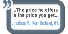 Port Orchard, WA Customer Comment