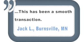 Burnsville, MN Customer Testimonial