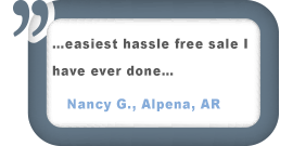 Alpena, AR Customer Comment