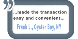 Oyster Bay, NY Customer Testimonial