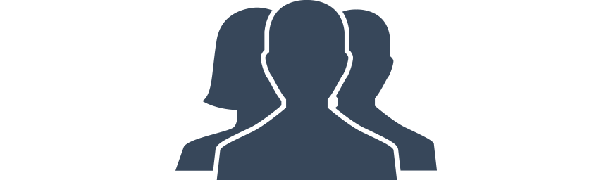 Silhouette of human figures depicting the RPM Customer Service Team