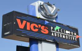 Vic's Precision Automotive Inspects Cars for RPM Auto Wholesale